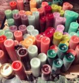 Bika Blooming Candles - Redbrown