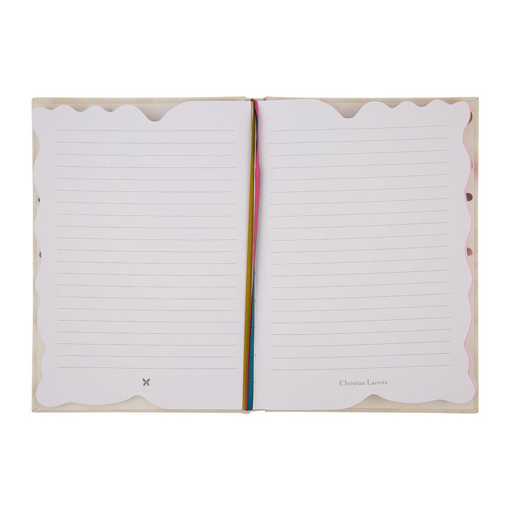 Christian Lacroix Notebook Fleurs Cannibales - A5