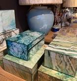 Mirror Box - Marble (Green/Ecru 004B)