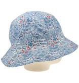 Bon Dep Vissershoedje Liberty - StrawberryThief Blue