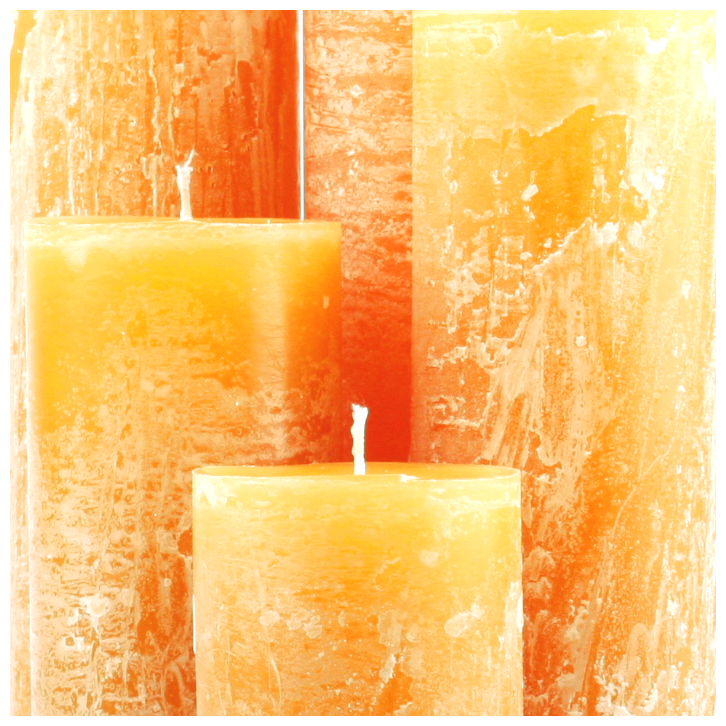 Bika Blooming Candles - Ochre
