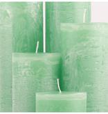 Bika Dikke Krul Kaarsen - Midden Groen