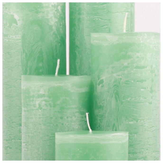 Bika Blooming Candles - Medium Green