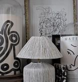 Lamp - Raffia White