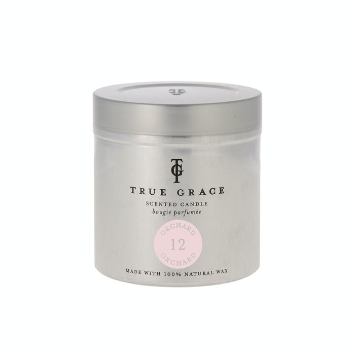 True Grace Scented candle in Can 12 - Orchard
