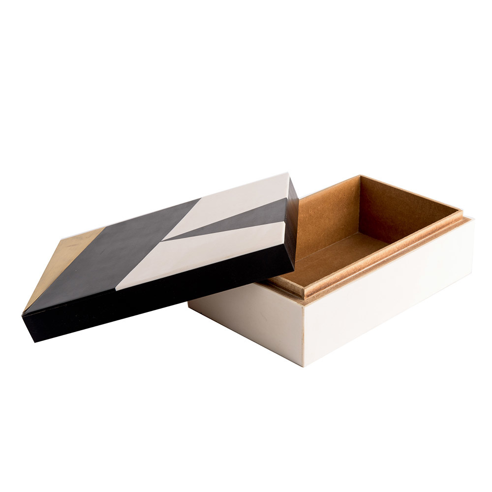 Storage box - Bone / Wood