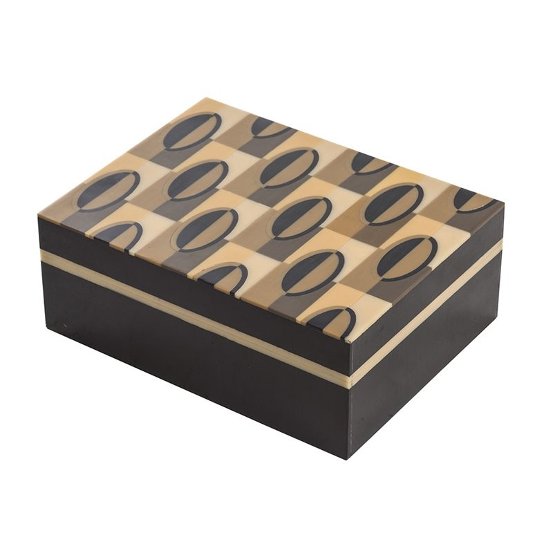 Storage box Geometric - Wood