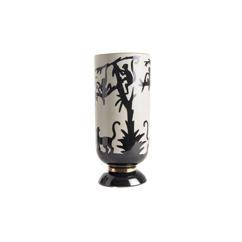 Vase Chinese Shades - Panther