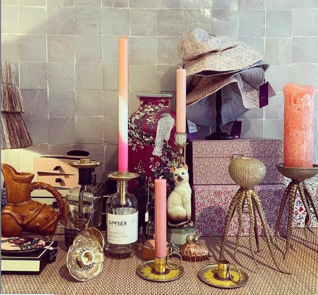 Doing Goods Candlestick on Bottle - Mia Poppy