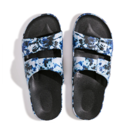 Freedom Moses Slippers - Zeppelin Black