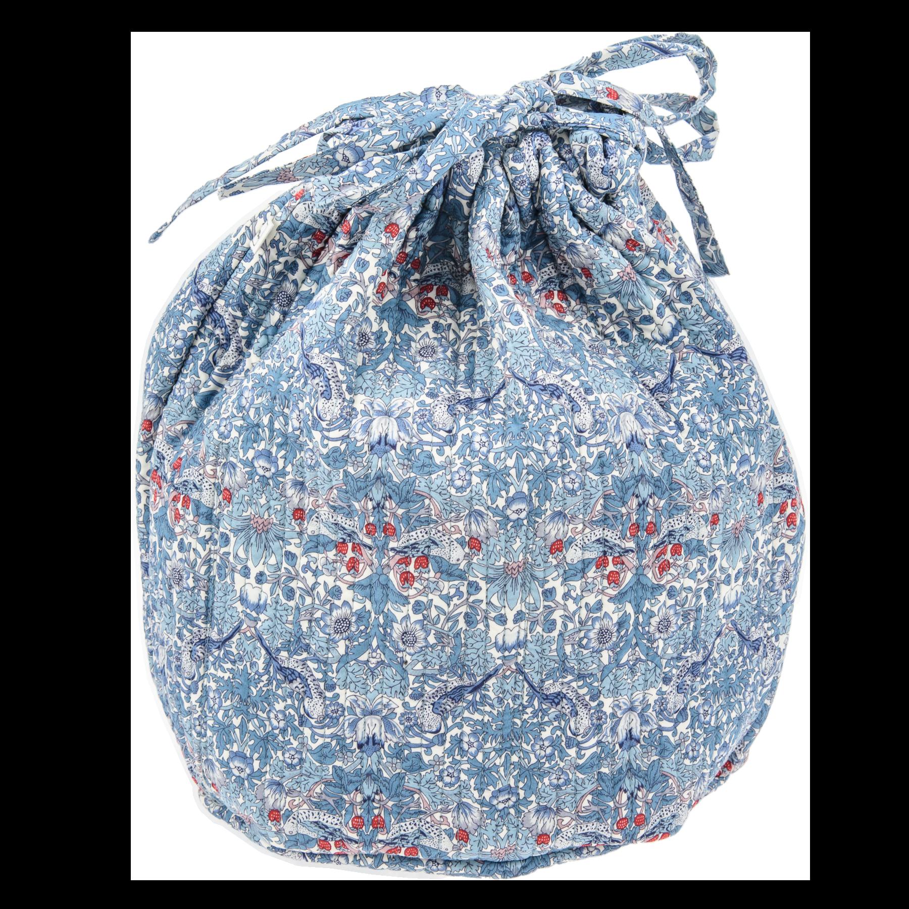 Bon Dep Pouch Bag Liberty - Strawberry Thief Blue