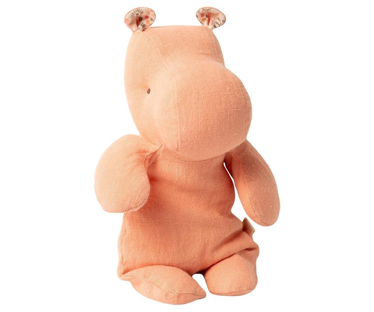Maileg Cuddle Safari Friends - Hippo Small - Apricot