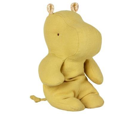 Maileg Cuddle Safari Friends - Hippo Small - Yellow