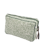 Bon Dep Quilted Toiletry Bag Liberty - Willow Wood Green