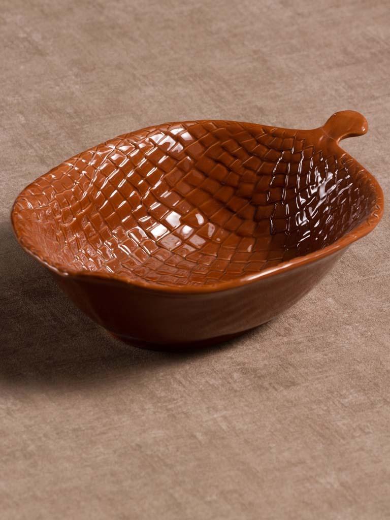 Bowl Ceramic - Pine Cone