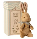 Maileg Knuffel My First Bunny - Blauw