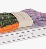 Thunders Love Charlie Sokken  Man - Oranje