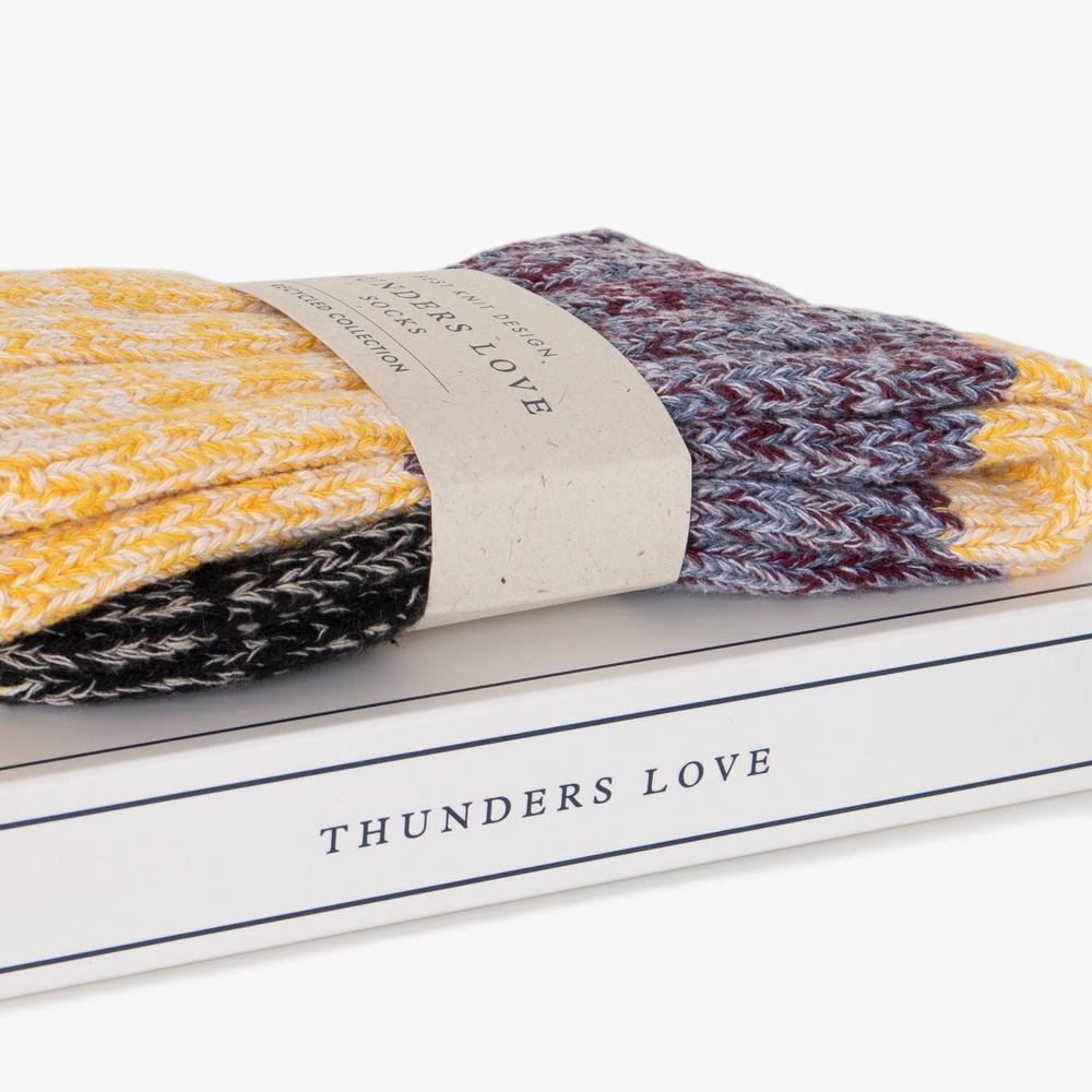 Thunders Love Helen Socks Women - Yellow