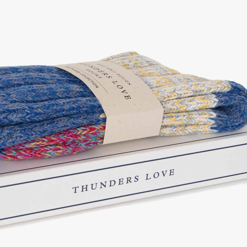 Thunders Love Helen Sokken Dames - Lichtblauw