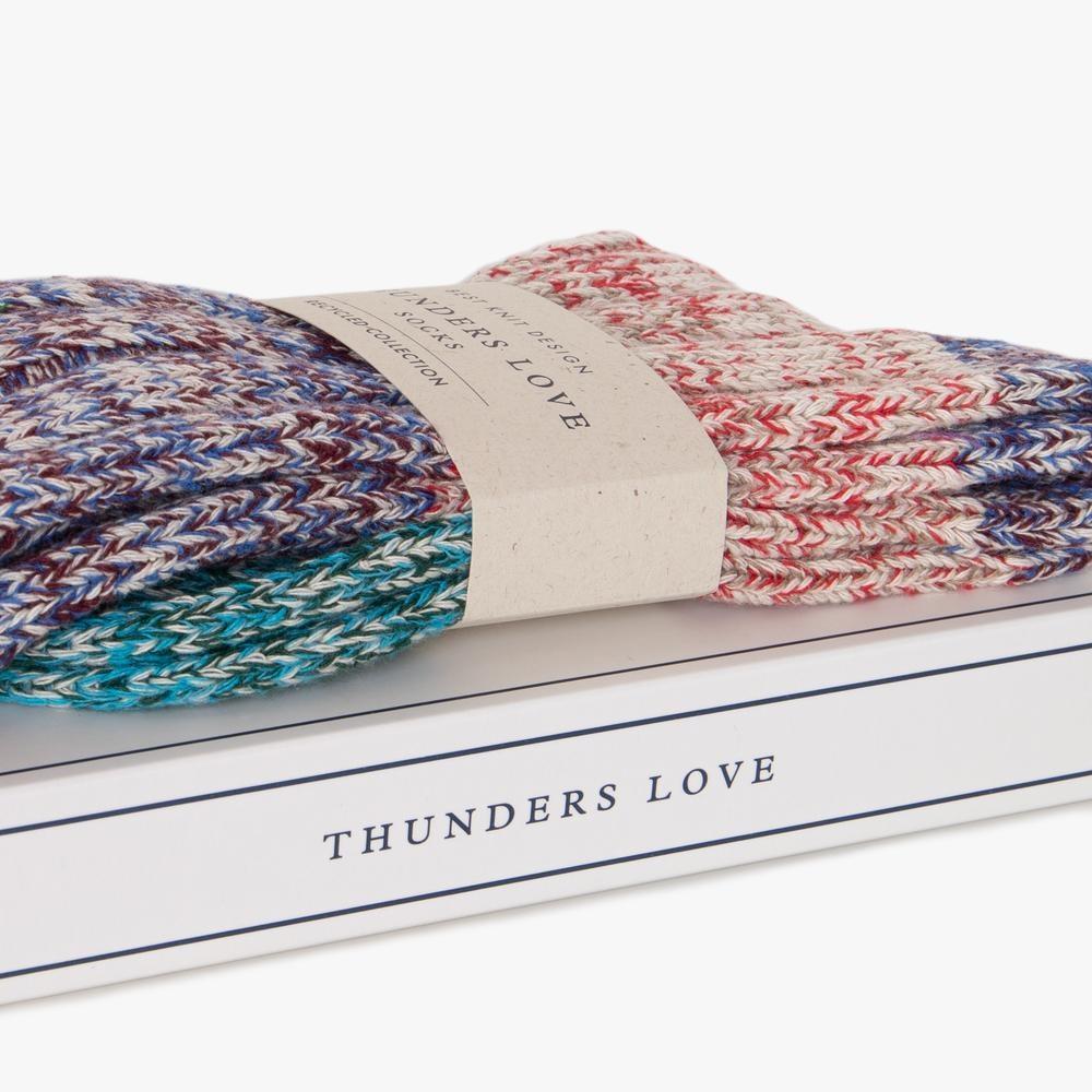 Thunders Love Helen Socks Women - Purple