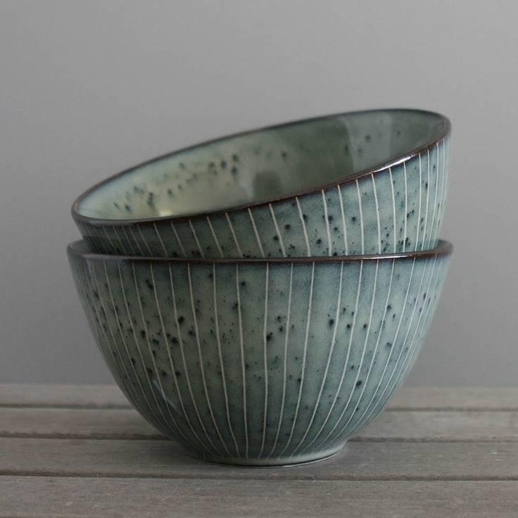 Broste Bowl - Nordic Sea