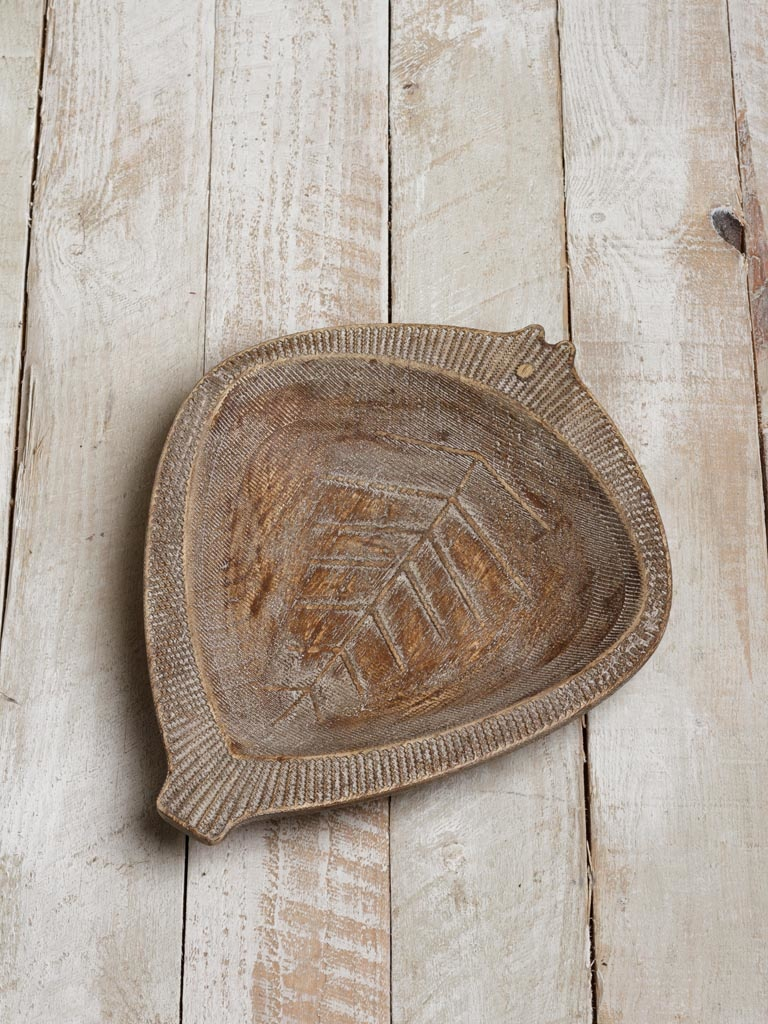 Fish Bowl - Wood
