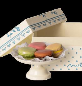 Maileg Set of Macarons on Cake Plate