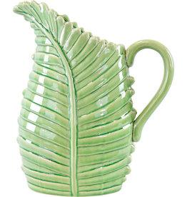 Schenkkan Blad XL - Licht Groen