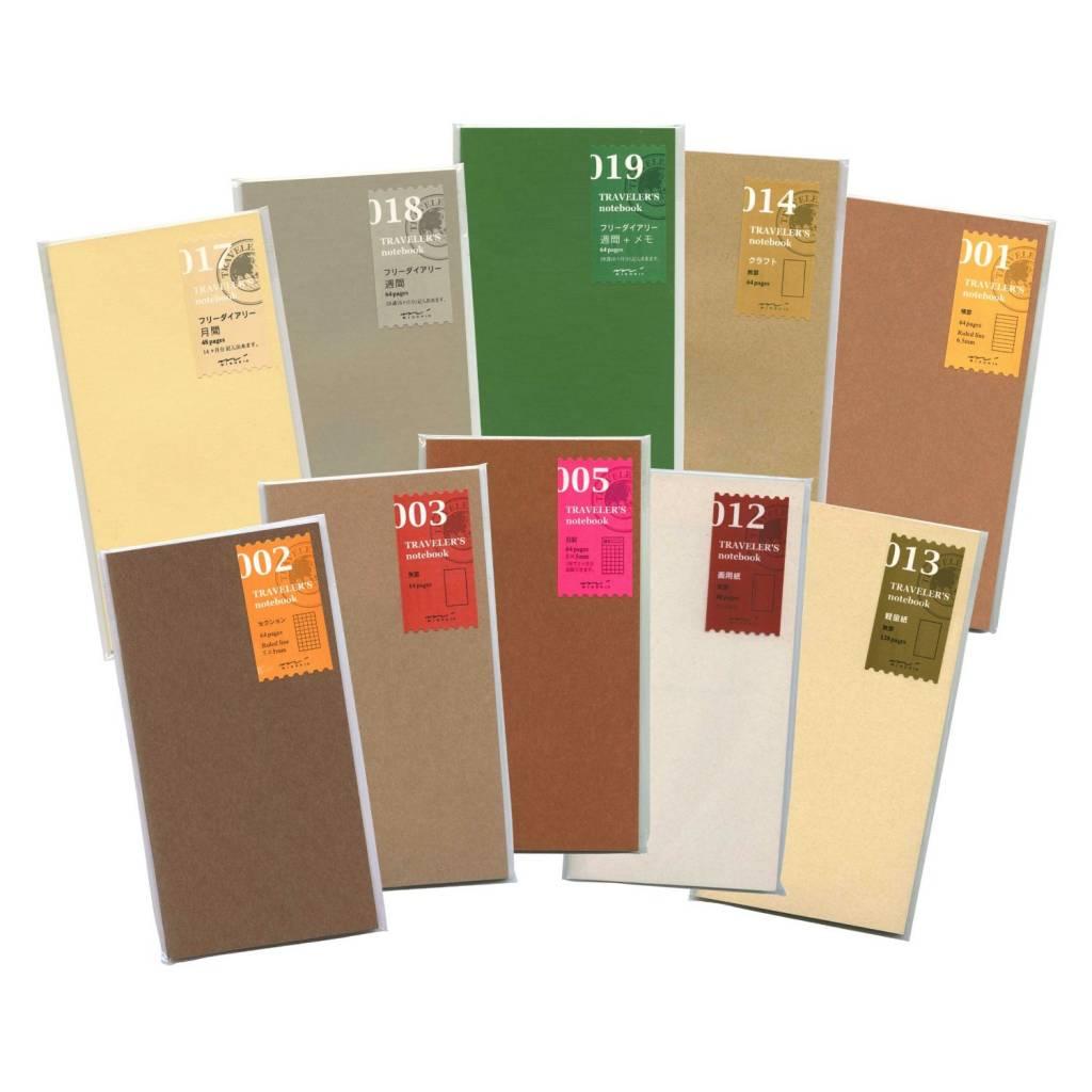 Midori Traveler's Notebook Lined Paper Refill 001