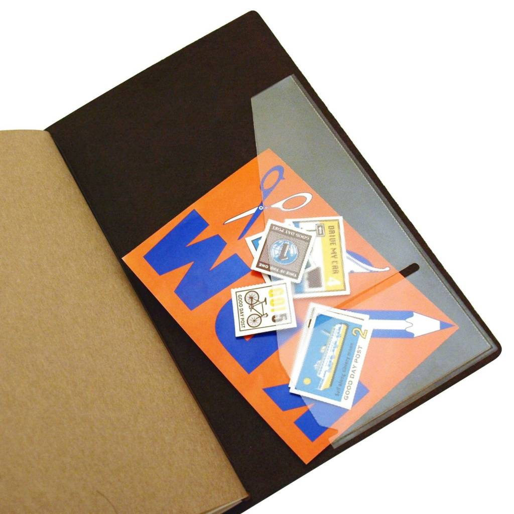 Midori Traveler's Notebook Large Pocket Sticker (006)