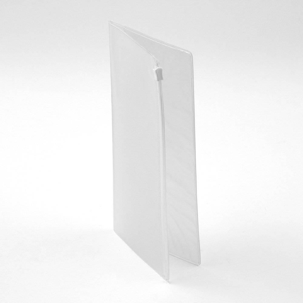 Midori Traveler's Notebook Clear Zipper Pocket 008