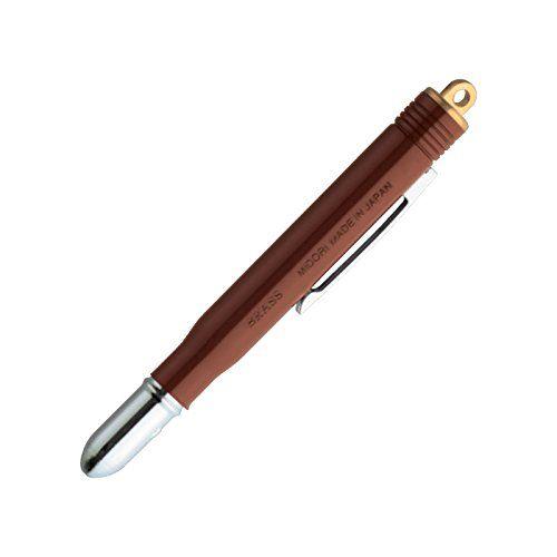 Midori Brass Pen - Brown