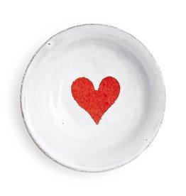 Astier de Villatte John Derian Small Deep Saucer - Heart