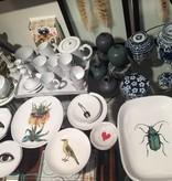 Astier de Villatte John Derian Platter - Green Insect