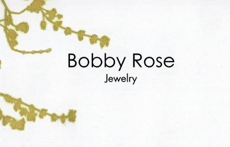 Bobby Rose Necklace - Leaf Charm Large