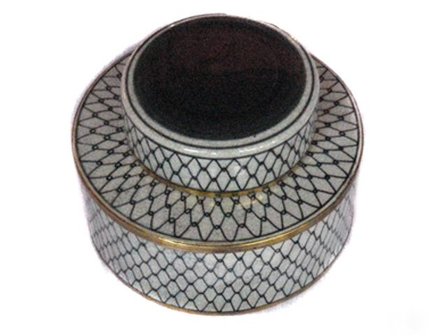 Pot with Lid - Netting