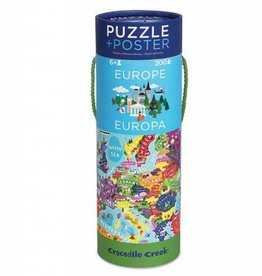 Crocodile Creek Puzzel - Europa