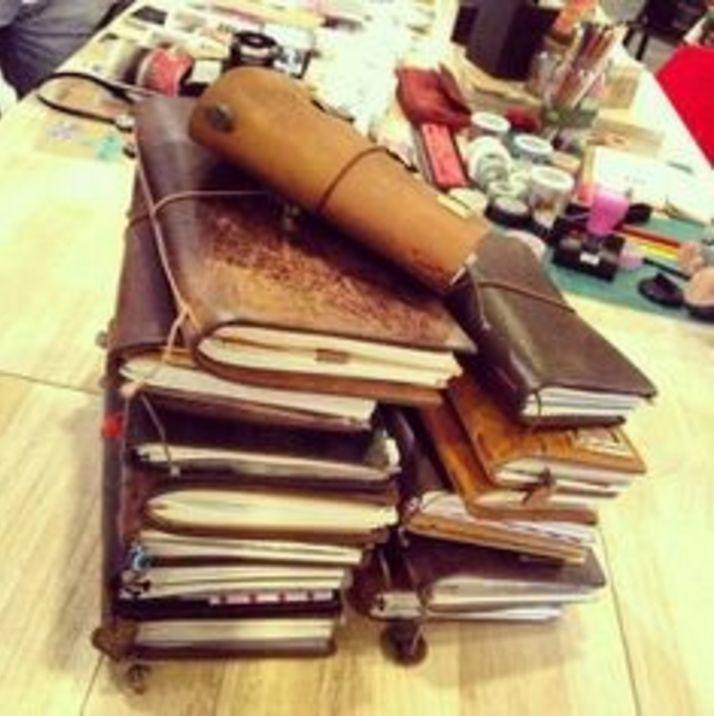Midori Traveler's Notebook Regular Size - Black