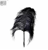 Maison Margiela Feather Pen Ostrich Black