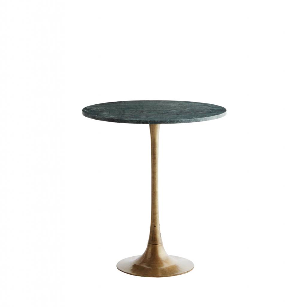 Madam Stolz Round Coffee Table Marble - Green