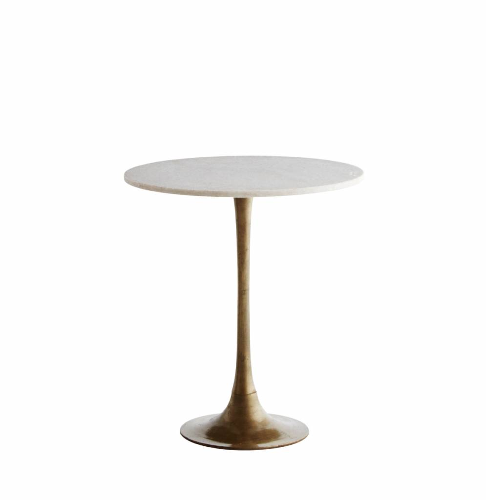 Madam Stolz Round Coffee Table - Marble
