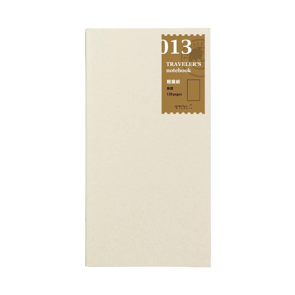 Midori Traveler's Notebook - Lichtgewicht Tekenpapier - Refill 013