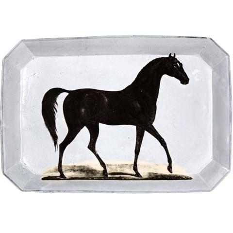 Astier de Villatte John Derian Rectangular Platter - Horse