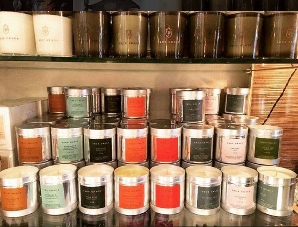 True Grace Walled Garden Candle in Tin - Stem Ginger