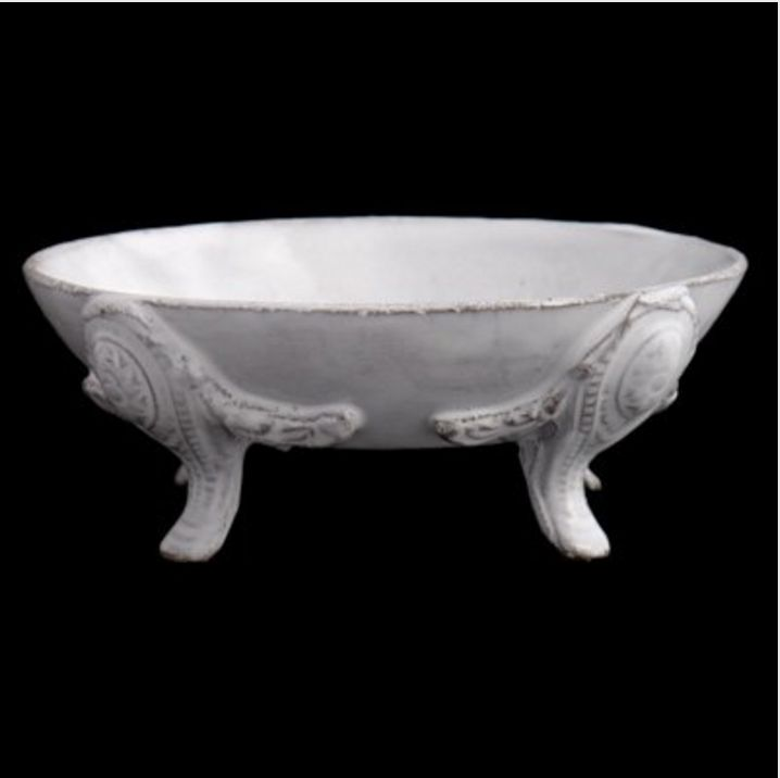 Astier de Villatte Footed Bowl