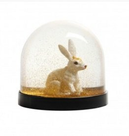 &K Snow Globe - Rabbit