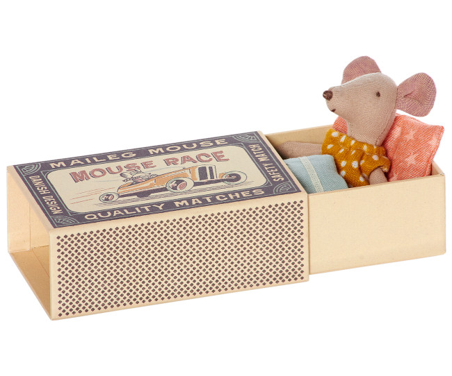 Maileg Mouse in Matchbox - Little Sister