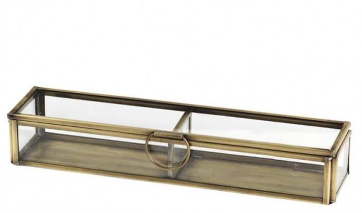 Broste Box - Glass / 2 Compartments