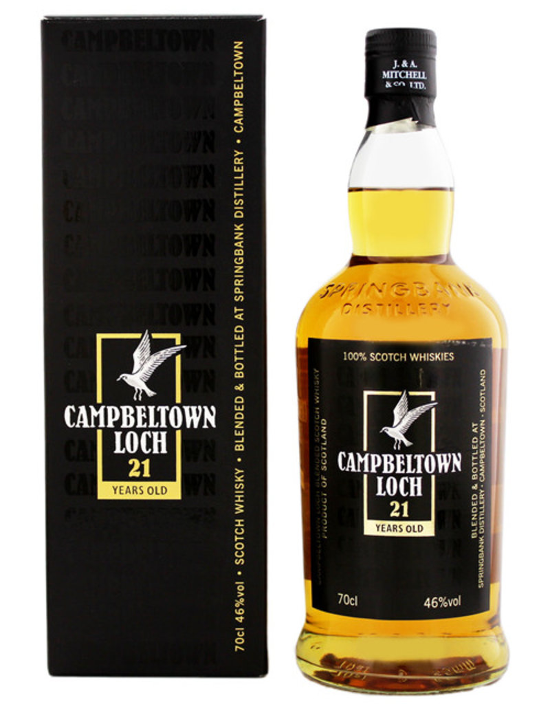 Campbeltown Loch 21 Years Old Blended 0,7L -GB-