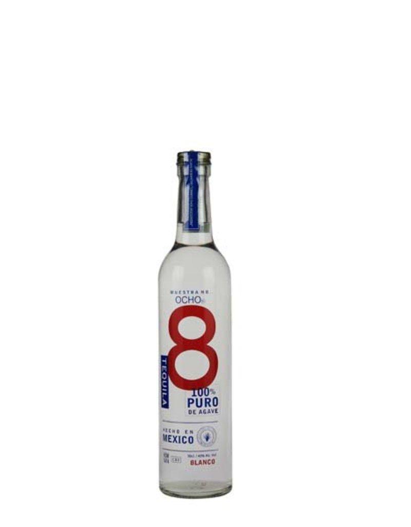 Ocho 500 ml Tequila Ocho Blanco Mexico